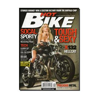Hot Bike Magazine Three Year Subscription
