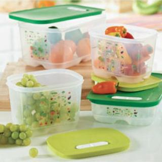 FridgeSmart (Double the Life of Your Produce) 4-Piece Set