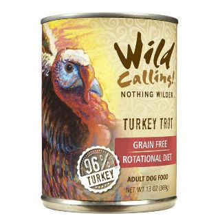 Wild Calling Adult Canned Dog Food in Turkey Trot Flavor