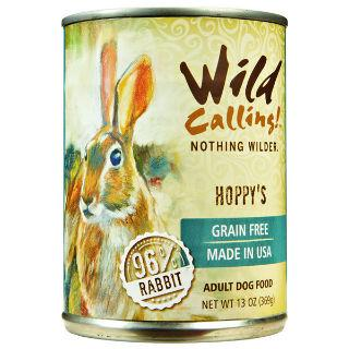 Wild Calling Adult Canned Dog Food in Hoppy's Flavor