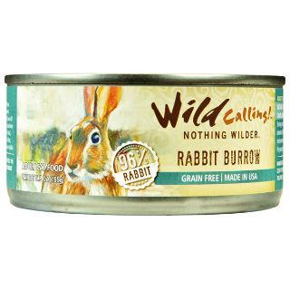 Wild Calling Adult Canned Cat Food in Rabbit Burrow Flavor