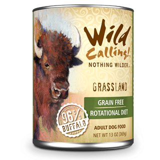 Wild Calling Adult Canned Dog Food in Grassland Flavor