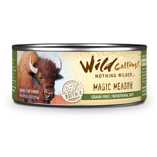 Wild Calling Adult Canned Cat Food in Magic Meadow Flavor