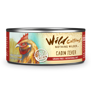 Wild Calling Adult Canned Cat Food in Cabin Fever Flavor