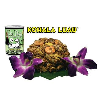 Petropics Tiki Dog Food in Kohala Luau Flavor 12/14oz
