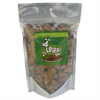 8oz Bag of 4Legz Dog Treats - Chehalis Mint