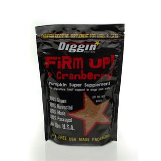 Diggin Your Dog - 4oz Bag of Firm Up! in Pumpkin & Cranberry Flavor