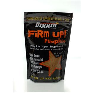 Diggin Your Dog - 4oz Bag of Firm Up! in Pumpkin Flavor