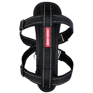 EZYDOG - Small Chest Plate Harness in Black