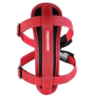 EZYDOG - Medium Chest Plate Harness in Red