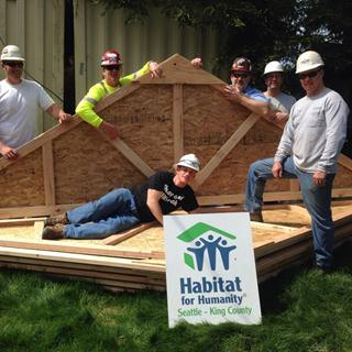 Corporate Sponsorship - Habitat for Humanity: Home Renovator