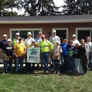 Corporate Sponsorship - Habitat for Humanity: Foundation Builder