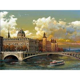 "Alexander Chen ""The Seine"" Artwork"