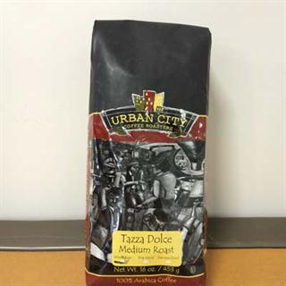 16oz Bag of Tazza Dolce Blend (Whole Bean)