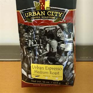 16oz Bag of Urban Espresso Blend Blend (Whole Bean)