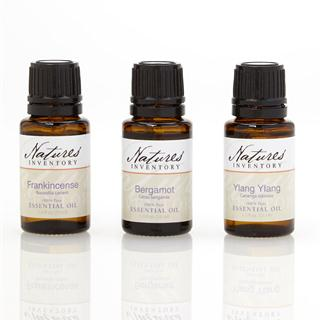 Essential Oil Kit - Bergamot, Frankincense, & Ylang Ylang