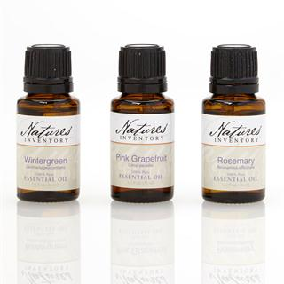 Essential Oil Kit, Grapefruit, Rosemary, Wintergreen