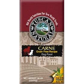 Tuscan Natural Carne Grain Free Recipe for Dogs 15-lb