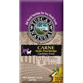 Tuscan Natural Carne Grain Free Recipe for Cats and Kittens 5-lb