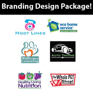 Logo / Branding Design Package by Rachelle Erickson / Full Package