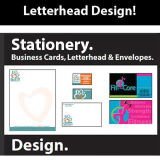 Business Card / Letterhead and Envelope Design by Rachelle Erickson