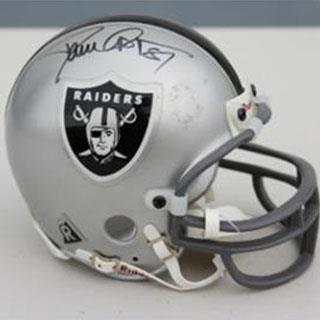 Signed Dave Casper Mini Helmet