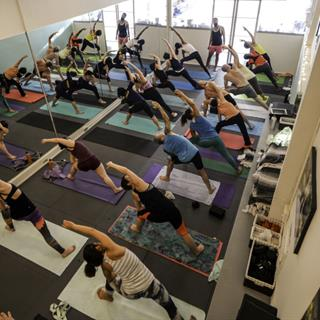 10 Classes at Left Coast Power Yoga