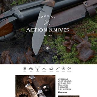 Action Knives - eCommerce Website