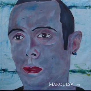 "French Village Series: ""Lost Boy"" Original Facial Painting/Marques Vickers"
