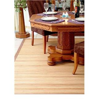 Rectangular Bamboo Floor Rug