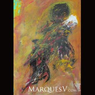 """Alora!"" Original Figurative Dancer Painting"
