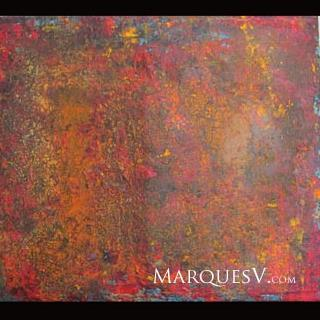 """Seasons of the World"" Original Abstractive Nature Painting"