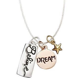Believe Dream Pendant Necklace
