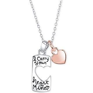 Carry Your Heart Pendant Necklace