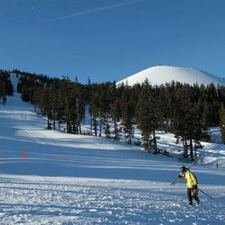 Get your skiing or snowboarding on at nearby Mt. Bachelor Ski Resort