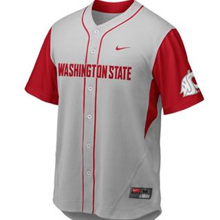 WSU Youth Nike Baseball Jersey, Size Medium  12/14