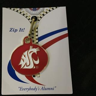 Washington State University - Zipper Pull