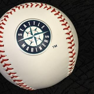 Seattle Mariners - Baseball with Logo