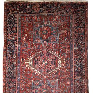 Antique Persian Handmade Bidjar 4x13