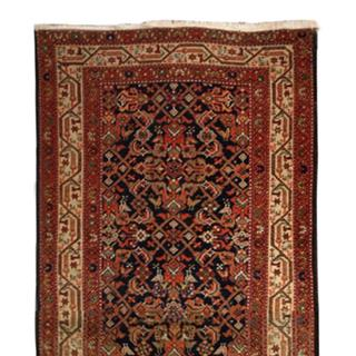 Antique 3x14 Persian tribal Kelim