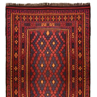 Antique 6x9 Tribal Kelim Flatweave