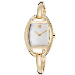 Women's Movado Miri 18K Gold Plated Stainless Steel Watch