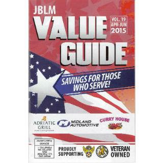 Half Page Ad in 4 Annual JBLM Value Guides