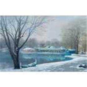 "Alexander Chen ""Central Park Boathouse"" Limited Edition"