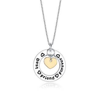 Best Friends Forever Stamped Necklace