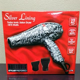 Hot Tools Turbo Ionic Dryer (Silver Linings)