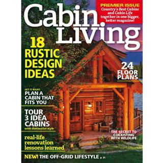 Cabin Living Magazine One Year Subscription