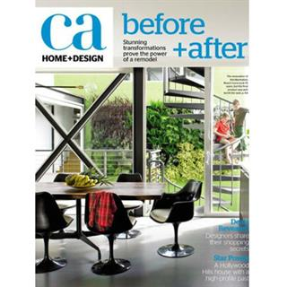 California Home and Design Magazine Three Year Subscription