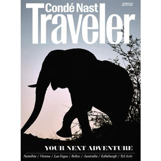 Conde Nast Traveler Magazine Three Year Subscription
