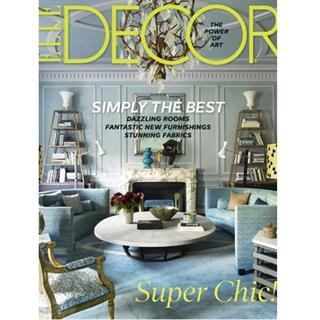 Elle Decor Magazine Three Year Subscription